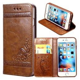 Brand new rétro modèle PU étui en cuir portefeuille cartes cas de téléphone portable affaire en cuir d'affaires pour iPhone X 8 7 6 5 s 4 s ? partir de fabricateur