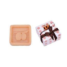 Presentes feitos à mão da coruja on-line-1 PCS MINI Feito À Mão Scented Soap Owl Design Sabão De Banho Criativo Presente Produtos de Cuidados de Saúde