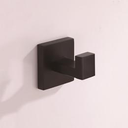 Schwarze beschichtete haken online-Wandhaken Messing Wand Luxus Antik Schwarz Chrom Bad Dusche Handtuch Kleidung Mantel Robe Bad Haken für Küchenbügel