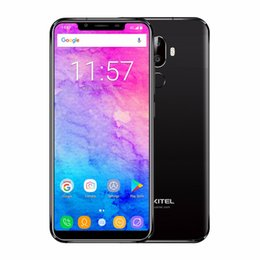 "Wholesale chinese wholesale smartphones - Oukitel U18 5.85"" 21:9 Full Display Smartphones Face ID MT6750T Octa Core Android 7.0 4G 64G 4G LTE Mobile Phone"