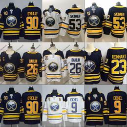 Mens 2018 New Brand Buffalo Sabres 26 Rasmus Dahlin Jersey 15 9 Jack Eichel  23 Sam Reinhart 100% Stitched Hockey Jerseys Cheap 6b13b632e