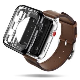 Argentina Nueva llegada de protección completa transparente suave cubierta de TPU para Apple Watch Case 44mm 40mm 42mm 38mm cubierta de banda de Shell Suministro
