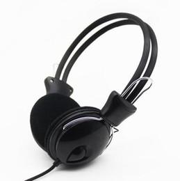 Gota de água negra trançado cabo com fone de ouvido fone de ouvido, barra de fone de ouvido de computador PC on-line, fábrica de fone de ouvido presente supplier headphones 2.5mm de Fornecedores de auscultadores 2.5mm