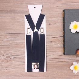 Wholesale Men Suspender Suit - 105*2.5cm fashion trending popular suit suspender wedding couple strap