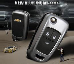 Wholesale Chevrolet Cruze Key - Car-styling Key Case Cover Holder For Chevrolet Key Cruze Aveo TRAX Opel Astra Corsa Antara Meriva Zafira ASTRA J Mokka Insignia