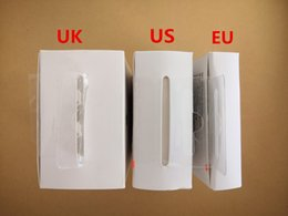 Wholesale iphone wall box - 100pcs Original AAAA Quality 5W 5V 1A US EU UK Plug USB AC Power Adapter Charger Wall Adapter charging for iphone 5 6 8 x 4 With retail box