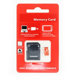 2018 NEW Handisk High Quality MicroSD Memory Card 32GB 16GB 4GB 128GB 128MB Micro SD Card With Adapter + Package microSDXC