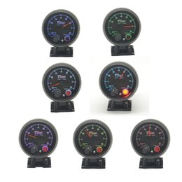 Indicatore a colori del tester 7 del tachimetro del puntatore da 3,75 pollici con la funzione di avviso RPM Gauge da luci led per contatori fornitori