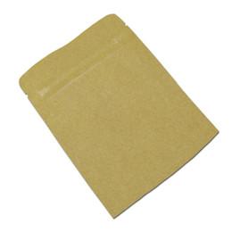 Argentina Bolsos de la cremallera del papel de aluminio del papel de Brown Kraft que se puede volver a sellar que empaquetan la bolsa para el polvo del café Paquete del alimento de los snacks Bolsa de embalaje Suministro