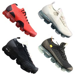 Wholesale newest designer sneakers - 2018 WMNS Vapormax FK Running Shoes Designer Virgil Trails Sport Sneakers Newest Casual Outdoor Trainers A++ Quality with Double Box