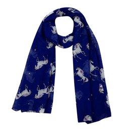 Wholesale Bali Yarn Shawls - Winter Scarf Women Fashion Horse Satin-Silk Square Wraps Female Shawl neckerchief female Bali yarn muffler Blanket Bufanda