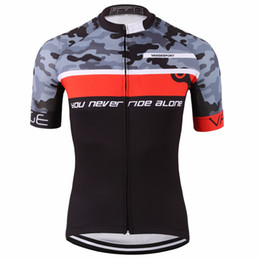 Wholesale Cycling Team Jerseys Cheap - Sport original summer cycling clothes cheap team 2018 short sleeve cyclist jersey cheap professional compression bike jersey top
