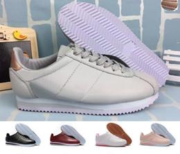 new product f657f 65602 Classic Cortez NYLON 2018 Oferta Hombre Mujer Atlético Classic Cortez Nylon  PRM Running Sneaker Adlut Rosa Negro Rojo Blanco Azul Ligero Sport Run  Zapatos ...