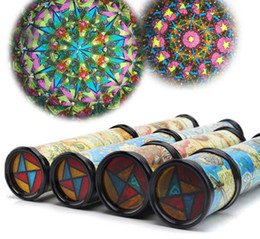 Wholesale Wholesale Kaleidoscope Toy - 30cm Large Scalable Rotating Kaleidoscopes Extended Rotation Adjustable Fancy Colored World Baby Toy Children Autism Kid Toy