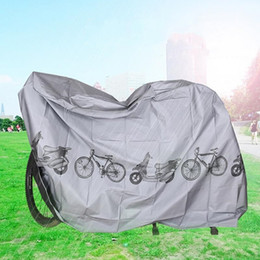 Wholesale Rain Bikes - Bike Dustproof Cover Sunscreen Polyester Fiber Rain Proof Covers UV Protector Bicycle Tools For Outdoor Top Quality 8qt B
