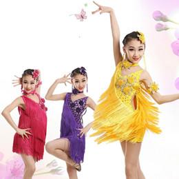 6a536571c5df Discount girls ballroom dresses - child kid children professional latin  dance dress for girls ballroom dancing