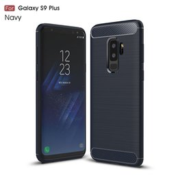 Wholesale galaxy goophone - for samsung galaxy goophone j2 pro 2018 j1 mini prime luxury phone case slim Hybrid Super rugged armor Carbon Fiber Texture Brushed caus