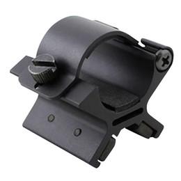 Taschenlampenbereich online-Brynte MX02 Taschenlampe Magnetische Halterung mit Dual Magneten für 27-30mm Taschenlampe Dim Bereich Montage Taktische Taschenlampe LEF_507