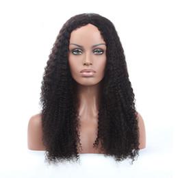 2018 10a grade jolie beauté aaaaaa 100% non transformés remy vierge de cheveux humains couleur naturelle longue afro bouclés pleine perruque de dentelle pour les femmes ? partir de fabricateur