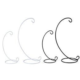 Wholesale Rack Stands - Iron Hanging Stand Half Round Shape Display Rack Durable Sturdy Micro Landscape Ornament Holder New Arrival 1 8gj2 B