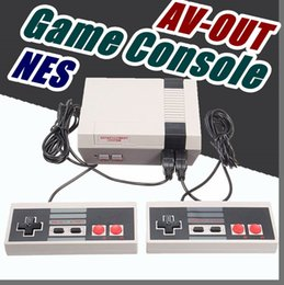 Wholesale Free Host - free USA Nostalgic Host Sale Mini TV RCA Video AV-OUT Game Console Handheld mini pc for NES Games with retail box A-JY
