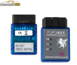 Wholesale obd ii programmer - Best Newest Bluetooh TOYO KEY OBD II KEY PRO Work with MINI CN900 and MINI ND900 Key Programmer