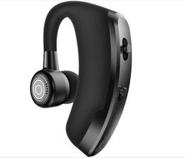 Wholesale sharp drivers - V9 Handsfree Wireless Bluetooth Earphones Noise Cancelling Business Headset with Mic for Driver Office Sports 30PCS LOT