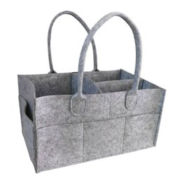 2019 12 cestini appesi Baby pannolino organizzatore salviette sacchetto caddy nursery bin bambino pannolino pieghevole cestino dell'organizzatore per appendere 12 cestini appesi economici
