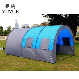 972f9ea9109a6 Quatre Saison 5-8 Personne Grand Camping Tentes Camping En Plein Air Camping  Party Tente En Plein Air Tente Événements Pour Famille Randonnée Tentes ...