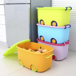 Wholesale Plastic Book Storage - wholesale Stackable Latch Box Storage Containers Plastic Bins For Kids Baby Toys Clothes Books Home Decoration