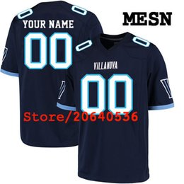 Cheap Custom Villanova Wildcats College jersey Mens Women Youth Kids  Personalized Any number of any name Navy Blue Stitched Football jerseys 76d61477f