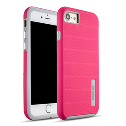 2019 caseología iphone 6s Funda híbrida de doble capa para PC Funda de armadura metálica para iPhone X 8 Plus 7 6 6S Plus Funda de caseología caseología iphone 6s baratos