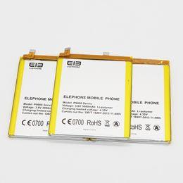 Wholesale original mobile phone batteries - 100% Original Backup Elephone P9000 P9000 Lite Battery For Elephone Lite Smart Mobile Phone