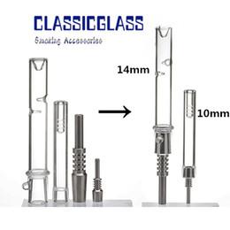 dabs en cire Promotion Trousses NC Kit Nectar WAX Dab Rigs avec kit de collecteur mini-collecteur pour stations de graissage pour huile de 10mm à 14mm