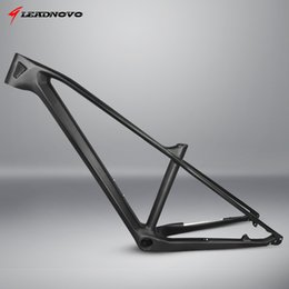 Wholesale mtb frame full - On sale !MTB bike full carbon fiber frame mountain carbon bike frame racing bicycle frameset glossy matte surface pf30