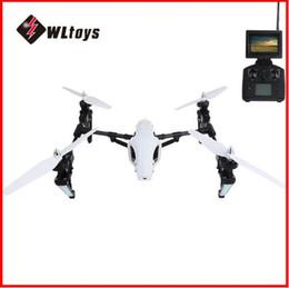 wltoys quadcopter Rabatt Heißer Verkauf Kamera-Drohnen WLtoys Q333-A 5.8G FPV 2.4G 4CH 6 Achsen-Kreisel-umwandelbarer RC Quadcopter mit 0.3MP Kameras