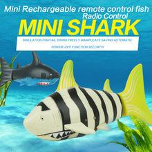 Wholesale Remote Control Water Toys - Mini RC Shark Under Water Coke Zip-top Remote Control Shark Fish Kids Electric Water Game Boat Submarine Toy 50PCS YYA973