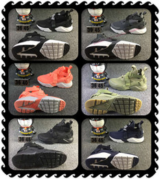 Wholesale 36 v - 2018 New arriver Huaraches V Running Shoes For Men & Women, Top Quality Airs Huarache Run Ultra Breathable Mesh Cushion Sneakers Eur 36-46