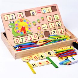 Wholesale Early Boxing - Multi function digital computing learning box, early teaching aids, preschool education, preschool education and hot selling toys