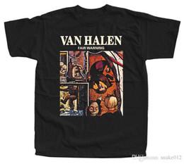 VAN HALEN - Fair Warning camiseta negra 100% algodón todos f5c06dec466e1