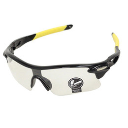 vision bicycle Promo Codes - Outdoor New UV400 Windproof Day and Night Vision Goggle Sports Men Camping Hiking Cycling Riding Bicycle Goggle Sunglasses