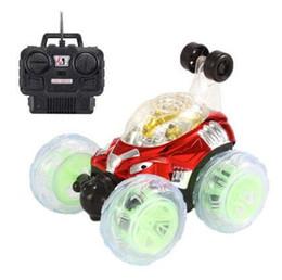 Gros camions à jouets en Ligne-Grande télécommande jouets jouets voiture flip stunt voiture voiture camion à benne basculante à distance boucle chariot électrique