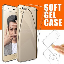 Wholesale Huawei Silicone Case - Ultra Thin Slim Soft TPU Silicone Rubber Clear Crystal Transparent Flexibile Case Cover For Huawei P20 Pro Lite P10 P9 Plus Mate 10 Pro V10