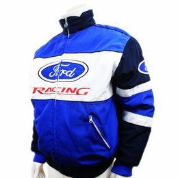 Wholesale Ford Gp - Wholesale- Men ford jacket MOTO GP motorcycle motorbike biker auto driver winter cotton jackets coat