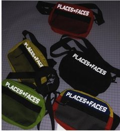 Wholesale star mobile phones - 2018 NEW PLACES+FACES Life Skateboards 17ss Bag High Quality Attractive Cute Casual Men's Shoulder Bag Mini Mobile Phone Packs Storage Bag