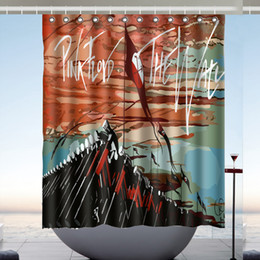 Rideaux de taille personnalisée en Ligne-Pink Floyd 03 Design Rideau De Douche Taille