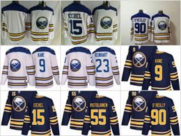 Wholesale Hockey Free - 2018 Winter Classic Jersey 15 Jack Eichel Buffalo Sabres Hockey Jerseys Custom Stitched Jerseys Free Shipping