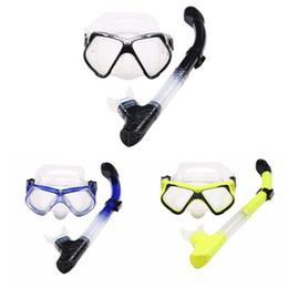 Scuba subacqueo professionale della maschera delle alette della maschera degli spruzzi della maschera di immersione subacquea attrezzatura da
