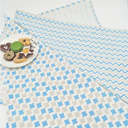 Wholesale Child Cloth Cotton Fabric - 2pcs 40 x 60 cm Fashion cloth Napkins 100% cotton heat insulation mat dining table mat children table Napkin fabric placemats