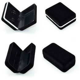 Wholesale cufflink boxes wholesale - Cufflinks Velvet Case Tie Clip Boxes Jewery Storage Organizer Cuff Link Display Holder Box AAA Quality